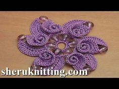 Beaded Flower With Spiral Petals - Page 2 of 2 - PRETTY IDEAS