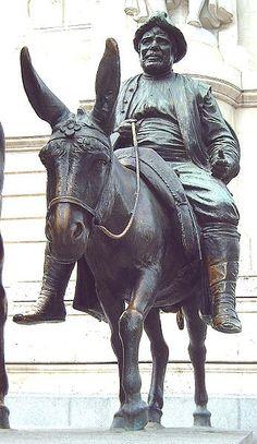Sancho Panza (sidekick to Don Quixote)