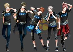 Tweet phương tiện bởi ツキノ芸能プロダクション(ツキプロ)公式 (@tsukino_pro) | Twitter Mahouka Koukou No Rettousei, Tsukiuta The Animation, Cool Anime Guys, Cute Games, My Daddy, Aesthetic Anime, Manhwa, Art Reference, Character Art