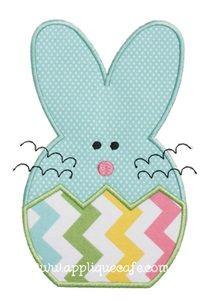 Bunny 5 Applique Design