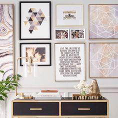 Znalezione obrazy dla zapytania gallery wall