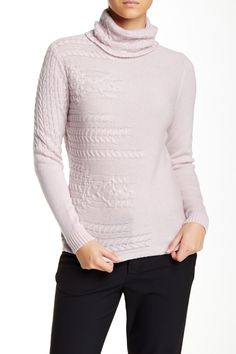 Turtleneck Cashmere Sweater by Lafayette 148 New York on @nordstrom_rack