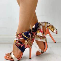 High Heels Sweet Filles Sandales Chaussures escarpins d/'été Clubwear Noeud Chaussures