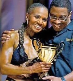 Ernestine Shepherd, bodybuilder, age 75