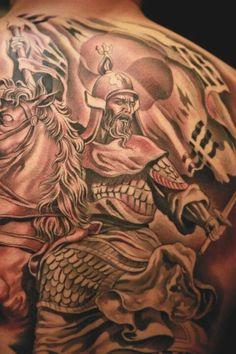 Jun Cha tattoo artist