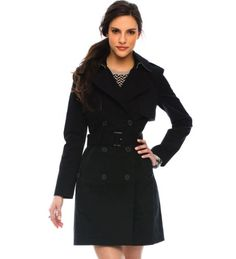 Armani Belted Trench