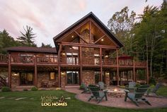 Home Log Of Picture House Plans sqft Majestic Style Log Home