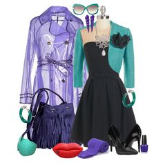 Hook Look Book :: Ursula-esque by leighanned on Polyvore #Disney #Ursula