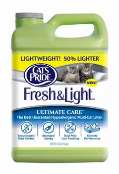 Oil Dri C47710-C40 Ultimate Care Cat Litter, Unscented, 12-Lbs. - Quantity 3 >>> Click on the image for additional details. (This is an affiliate link and I receive a commission for the sales)