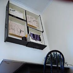 Reusing old dresser drawers as shelving! I'm doing this with our old dresser!
