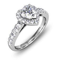 Html, Engagement Rings, Vintage, Wedding, Jewelry, Round Diamonds, Heart Shaped Diamond, White Gold, Engagements