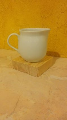 Simply wooden mug rug available on Etsy!