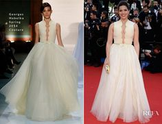 America Ferrera In Georges Hobeika Couture – 'How To Train Your Dragon 2′ Cannes Film Festival Premiere