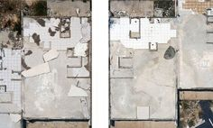 Clay Ketter Gulf Coast Slabs like architectural floor plans. From above, Ketter documents what once stood in New Orleans. Architectural Floor Plans, Abstract Photos, Architecture Art, Clay, Illustration, Artist, Painting, Inspiration, Texture