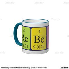 Shark periodic table word mug sharks words and mugs urtaz Choice Image