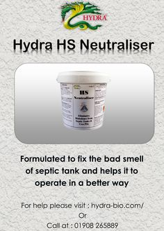 1000 images about hydra bio on pinterest septic tank for Septic tank fumes in house