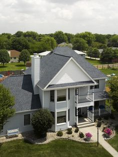 Best Atlantic Blue House Exterior Shingle Colors House Roof 640 x 480