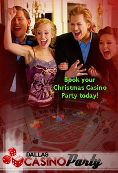 #Christmas is less than 40 days away - what are your #holiday #party plans? Contact #Dallas' premier #eventplanner today!  #AcesWildCasinoParty