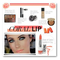 Spring Beauty: Corals by lalalaballa22 on Polyvore featuring beauty, Elizabeth Arden, Too Faced Cosmetics, Sigma Beauty and Revlon