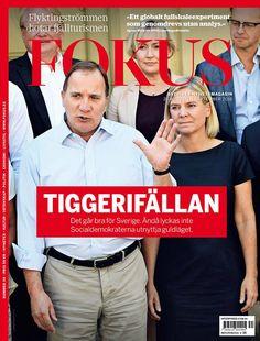 Magazine Cover (Sweden): Fokus (August 26-September 1, 2016) - Stefan Löfven