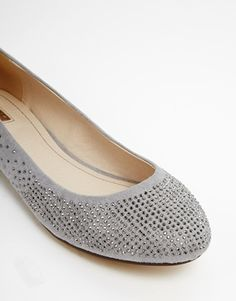 Image 2 of Oasis Sparkle Ballerina Shoes