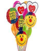 Grand Birthday Love & Smile Balloon Bouquet