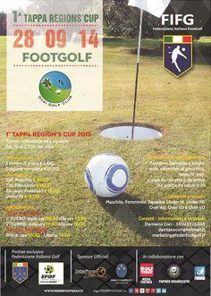 1° Tappa della Regions' Cup di FootGolf del Lazio
