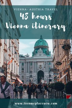 Vienna is the gorgeous capital city of Austria. This post is a quick itinerary guide to help plan your getaway to Vienna. Explore the city's top highlights like the Hofburg Palace, enjoy a recital at the Opera House and experience the beautiful cafes in t Backpacking Europe, Europe Travel Guide, Travel Guides, France Travel, Travel Packing, Europe Destinations, Bratislava, Cool Places To Visit, Places To Travel