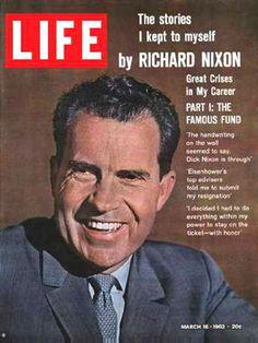 Life Magazine Cover Copyright 1962 Richard Nixon - www.MadMenArt.com   Life…