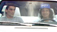 Ayrton e Roberto Carlos