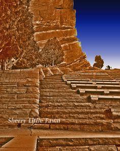 Red Rocks Stairway to Heaven 8 x 10 Fine art by Attitudeheadbands