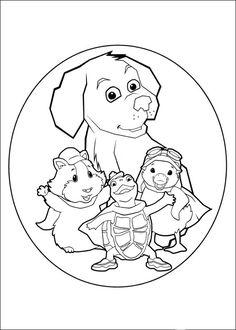 Wonder Pets Fargelegging for barn 1 Nick Jr Coloring Pages, Poppy Coloring Page, Online Coloring Pages, Cool Coloring Pages, Printable Coloring Pages, Coloring Books, Wonder Pets, Lol Dolls, Craft Activities For Kids