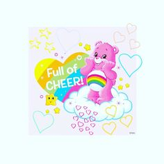 #HappyGal ♡♡♡ L O V E @CareBears ♡♡♡