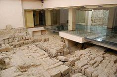 Restos de los lavatorios (midaa) de la Mezquita