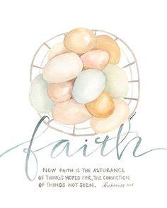 Prayer Verses, Bible Verses Quotes, Bible Scriptures, Faith Quotes, Godly Quotes, Now Faith Is, Walk By Faith, Scripture Art, Bible Art