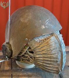 post apocalyptic guard helmet