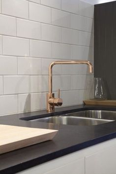 Best Of Brushed Gold Kitchen Faucet: Modern Brushed Gold Kitchen Faucet Beautiful Copper Finish Kitchen Mixer astra Walker Would Look Amazing In the and Elegant Brushed Gold Kitchen Faucet Combinations Kitchen Mixer, Kitchen Taps, Kitchen Reno, Kitchen And Bath, New Kitchen, Kitchen Dining, Kitchen Remodelling, Bathroom Taps, Classic Kitchen