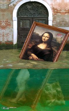 Parody of the Mona Lisa
