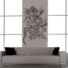 Asian Dragon Vinyl Decal Tattoo StyleFeng by EmpireCityStudios, $39.95