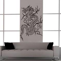 Asian Dragon Vinyl Decal Tattoo StyleFeng by EmpireCityStudios, $39.95