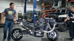 RECOILtv Full Auto Friday: Minigun Motorcycle Part 1