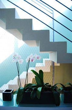 Fabrication d'escalier crémaillère en béton