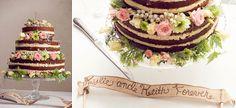 Nude Wedding Cake #byronbaywedding, #byronbayweddingphotographer, #beachwedding , #byronbay www.melleweddingphotography.com.au
