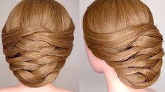 Spring Braided Flower Hair Tutorial - YouTube