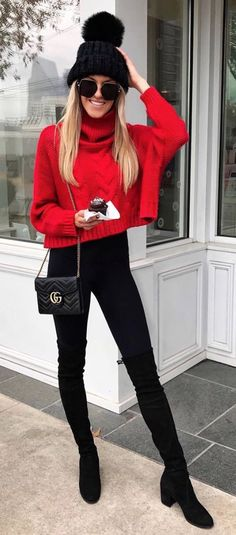 Inspire yourself with #winter #fashion