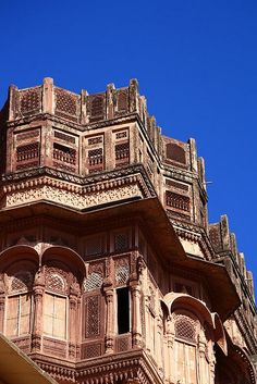 Mehrangarh Fort. The fort is still manged by the descendants of the Maharajah of Jodhpur, INDIA.   (by chrispass79, via Flickr)