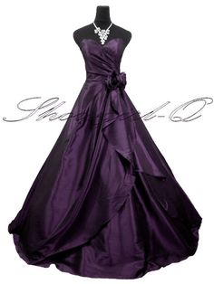 idk why but i pictured this as America's purple dress. if it only had sleeves though!!!