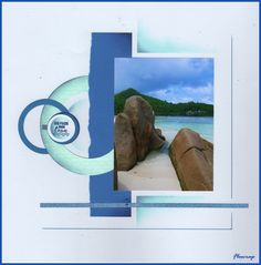 Mahe:Baie Lazare - Flopassionscrap Travel Scrapbook, Scrapbook Pages, Seychelles, Photo Layouts, Unique Photo, Portrait Photo, Altered Books, Scrapbooking Layouts, Simple Designs