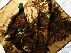 Your place to buy and sell all things handmade Hand Roll, Pheasant, Kimono Top, Birds, Silk, Vintage, Etsy, Women, Fashion