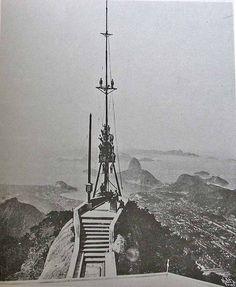 All sizes | Estação Radiotelefonia Rio de Janeiro 1923 futuro da estatua | Flickr - Photo Sharing!